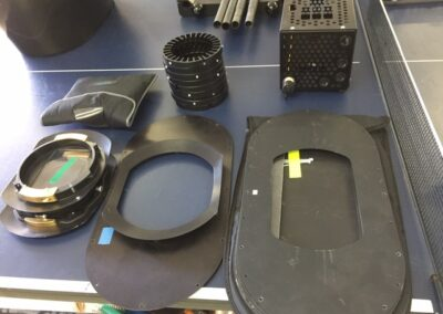 Front cover and lens parts